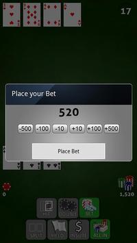 Spel Blackjack Free screenshot 4