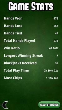 Spel Blackjack Free screenshot 2