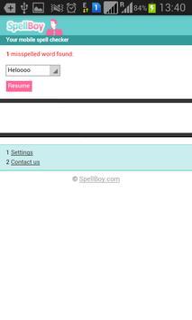 Free Spell Checker apk screenshot