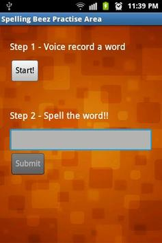 Spelling Beez apk screenshot