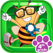 Icona Spelling Bee Words Practice for 4th Grade FREE