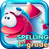 Spelling Practice Puzzle Vocabulary Game 1st Grade icon