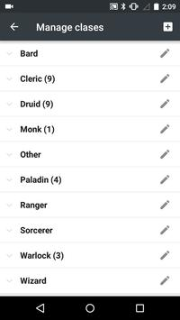 5th Edition Spellbook apk screenshot