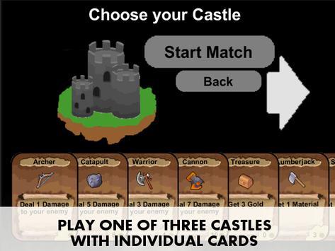 Castle Cards screenshot 2