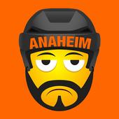 Anaheim Hockey Stickers icon