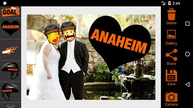 Anaheim Hockey Stickers apk screenshot