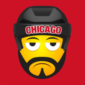 Chicago Hockey Stickers icon