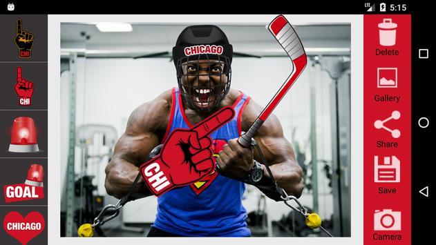 Chicago Hockey Stickers apk screenshot