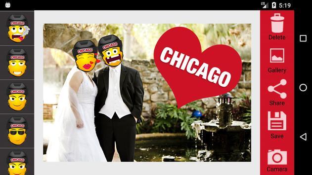 Chicago Hockey Stickers screenshot 2