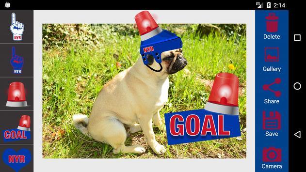 New York R Hockey Photo Editor apk screenshot