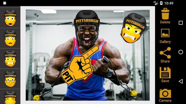 Pittsburgh Hockey Photo Editor poster