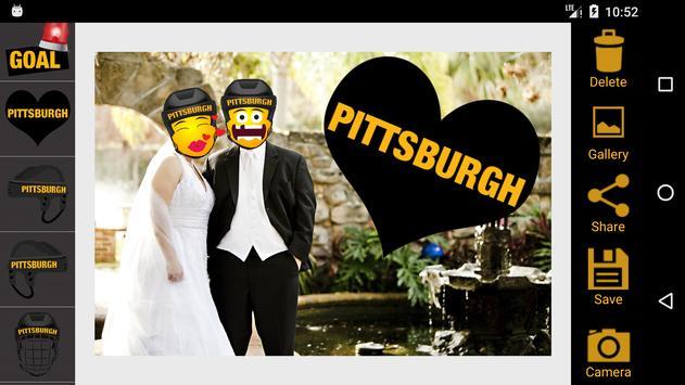 Pittsburgh Hockey Photo Editor apk screenshot
