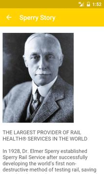 Sperry Rail apk screenshot