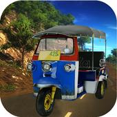 Tuk Tuk Rickshaw Offroad Drive icon