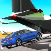 Car Transport Airplane Flight icon