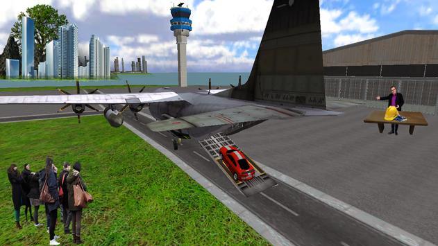Car Transport Airplane Flight apk screenshot