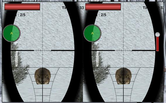 VR Mountain Wolf Hunting Game apk screenshot