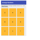 Arrange Numbers Game icon