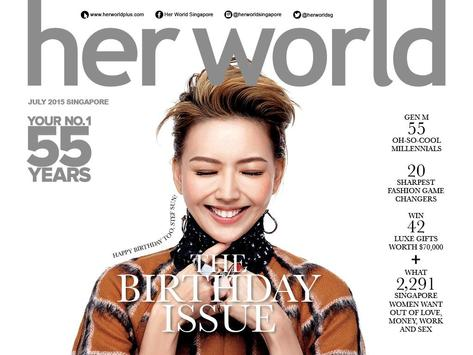 Her World SG Interactive poster
