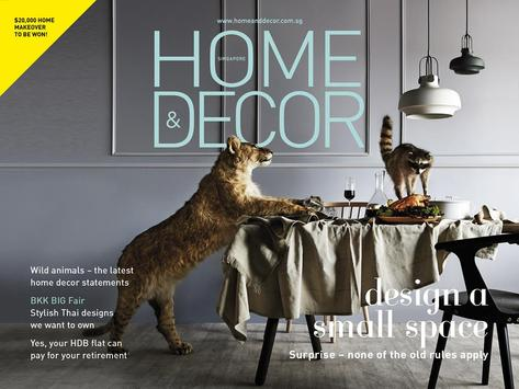 Home & Decor SG Interactive poster