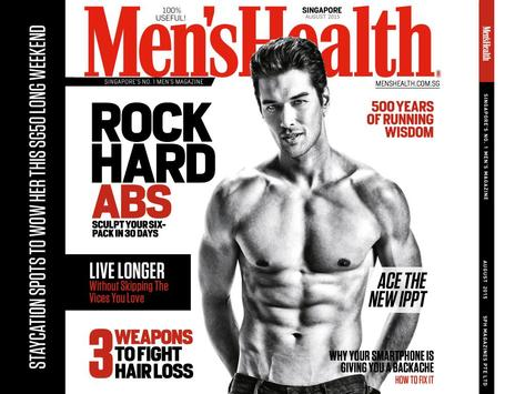 Men's Health SG Interactive poster