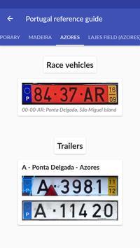 Portugal License Plates screenshot 3