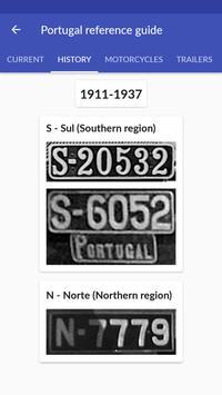 Portugal License Plates screenshot 2
