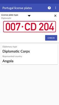 Portugal License Plates screenshot 7