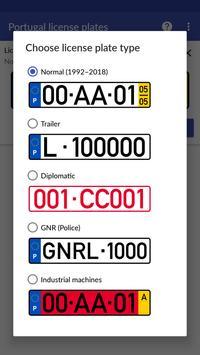 Portugal License Plates screenshot 5