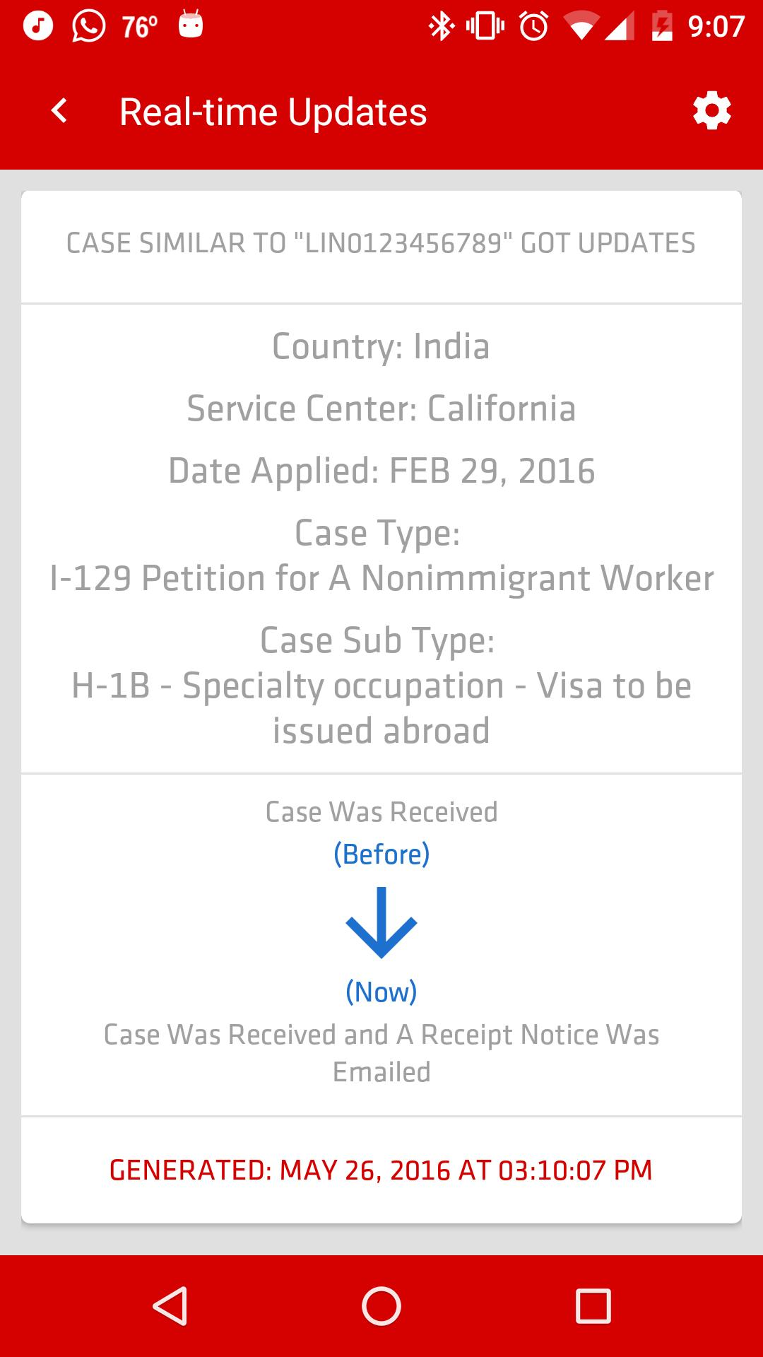 USCIS Case Status for Android - APK Download