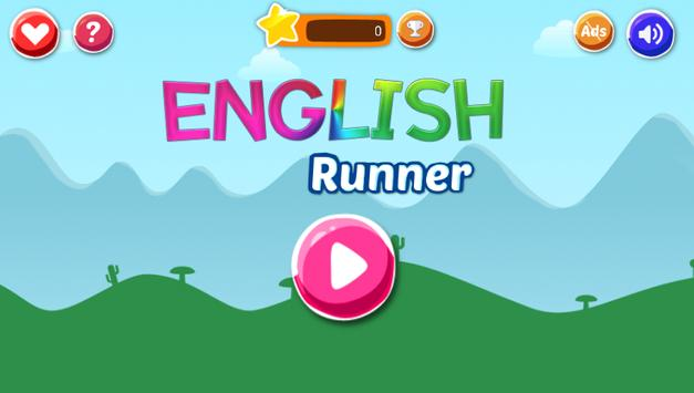 English Run poster