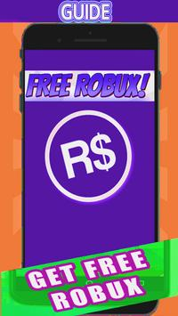 GET UNLIMITED FREE ROBUX 2018 screenshot 1
