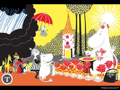 Moomin Mymble and Little My Preview apk screenshot
