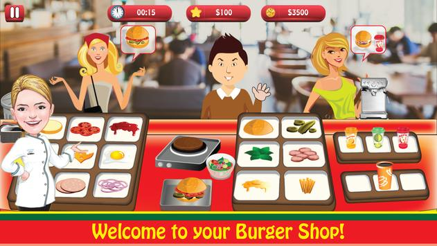 Burger Shop : Cooking Fever screenshot 2