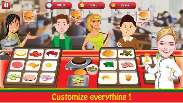 Burger Shop : Cooking Fever screenshot 9