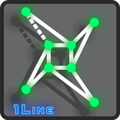 Draw One Line Puzzle Studio icon
