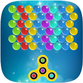 Shoot spinner  bubble icon