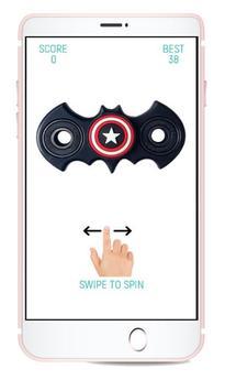 Fidget Spinner Fidget poster