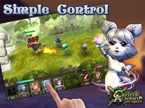 Critter Academy: Battle Wars screenshot 4