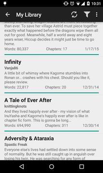 Fanfiction Reader apk screenshot