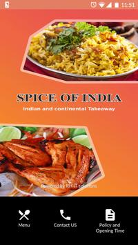 Spice of India poster