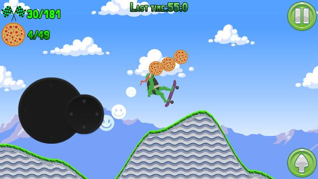 Skater Mutant Turtle screenshot 2