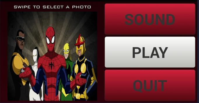 Ultimate Spider Of Men Puzzles poster