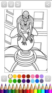 SpiderMan Coloring For Android