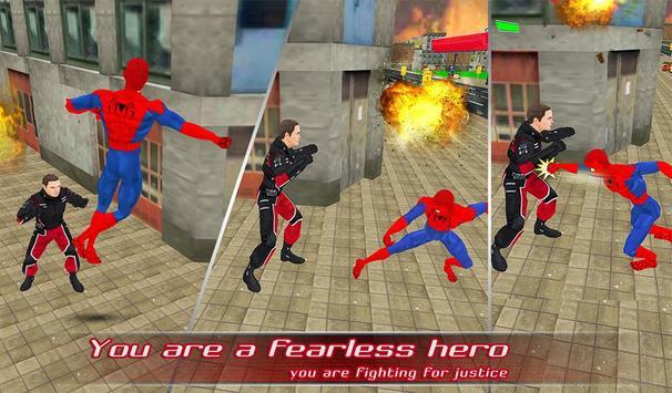 Spider Hero Super Spider Rescue Missions apk screenshot