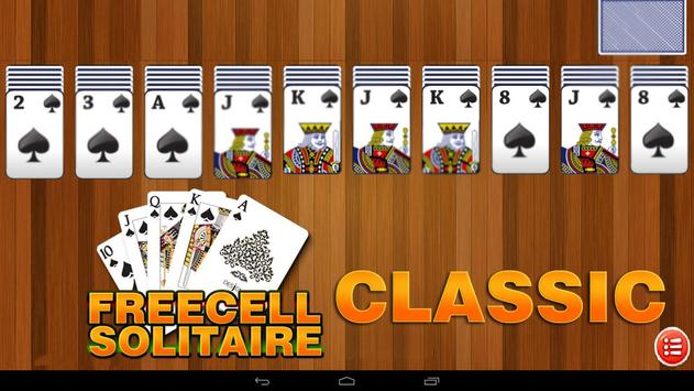 Freecell Solitaire Card Games screenshot 3
