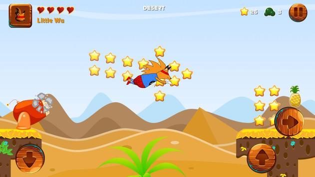 Spider Fox Fast Man - Jumping Platform Games screenshot 2