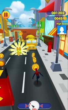 Subway Spider Avenger: Spider Hero, Spiderman Game screenshot 4
