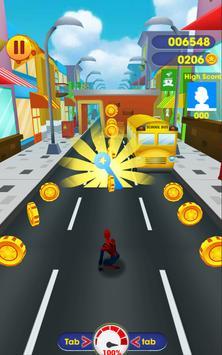 Subway Spider Avenger: Spider Hero, Spiderman Game screenshot 3