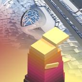 cubes arranged icon